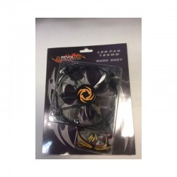 REVOLTEC LED FAN 120MM DARK GREY